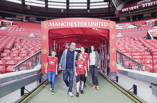 Manchester United Old Trafford Guided Tour Waug